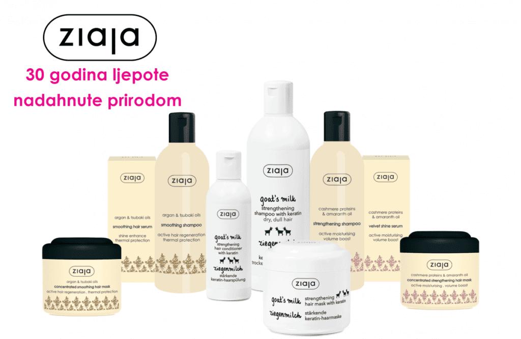 Ziaja proizvodi za njegu kose u BIPI
